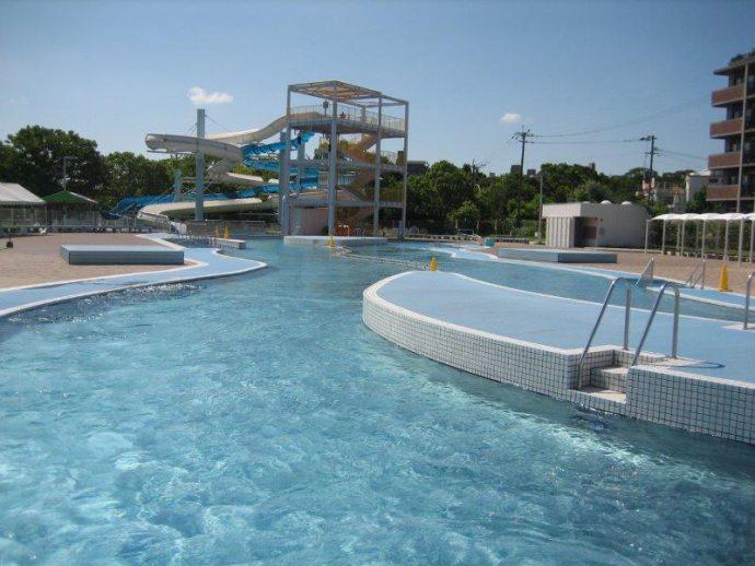 【くるめ市民流水プール】7月20~8月25日の期間に営業