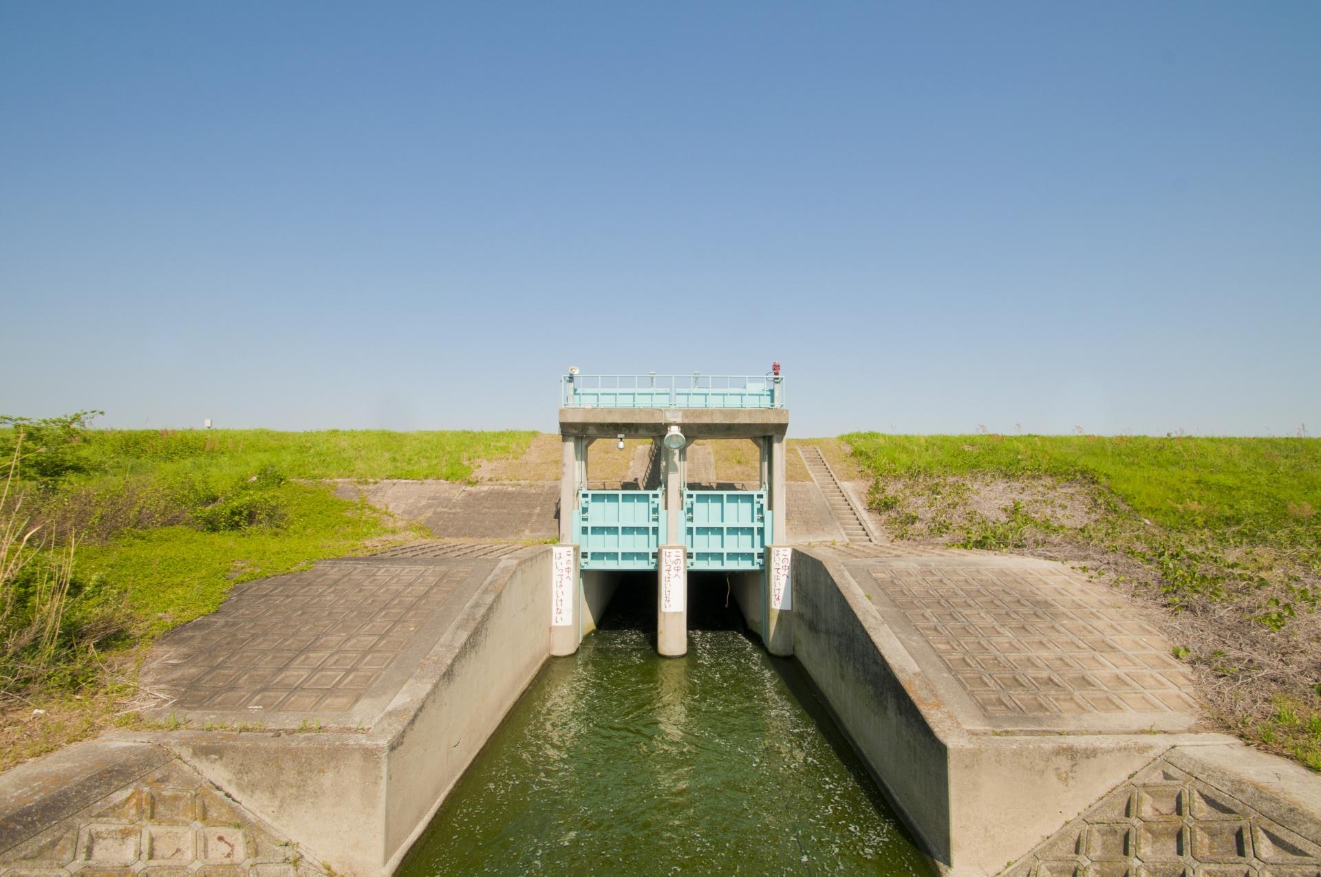 【久留米市】水門の開閉状況を確認できるようになりました。