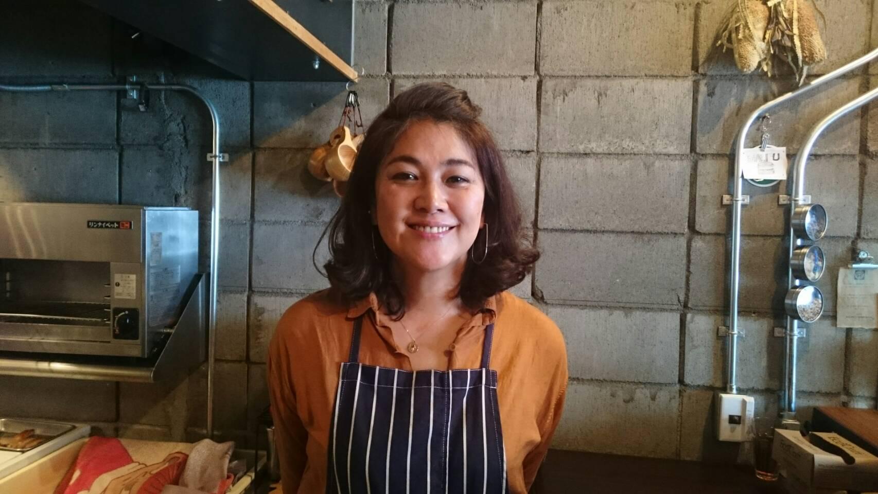 今日のキラキラさん ~ハンバーガー専門店MALIBUで働く内堀富美さん~
