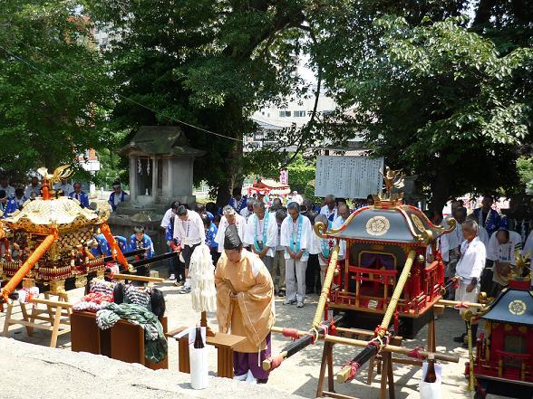 【祇園神社の夏祭り】約600年の歴史をもつ、疫病払いが起源の夏祭り